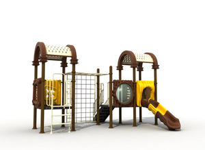 Adventured Super Design Garden Use Kids Climbing Frame with Slide Playground Park