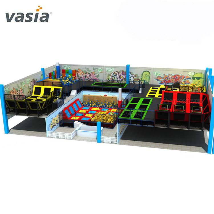 Hot Sale Children Jumping Trampoline For Sale Single Kids Indoor Trampoline Bed Bouncer Trampoline