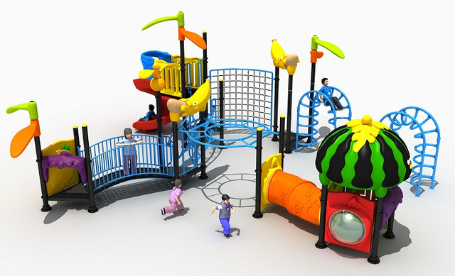 Atrractive Children Customized Outdoor Exercise Equipment Playground