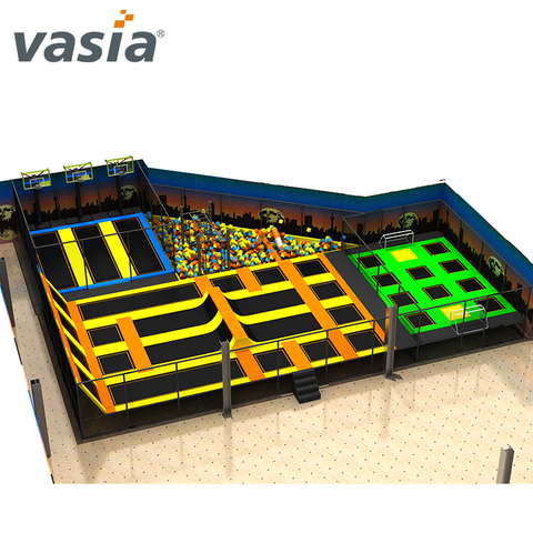 Commercial Use Trampoline Cheap Indoor Trampoline Park