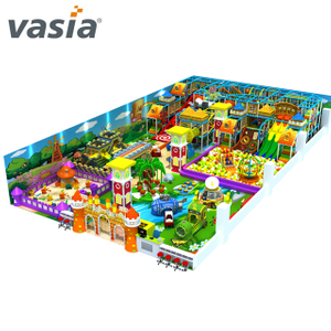 customized indoor playground equipments with park kindergarten and professional soft