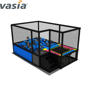 Huaxia Colorful Indoor Playground for Children with Trampoline Park