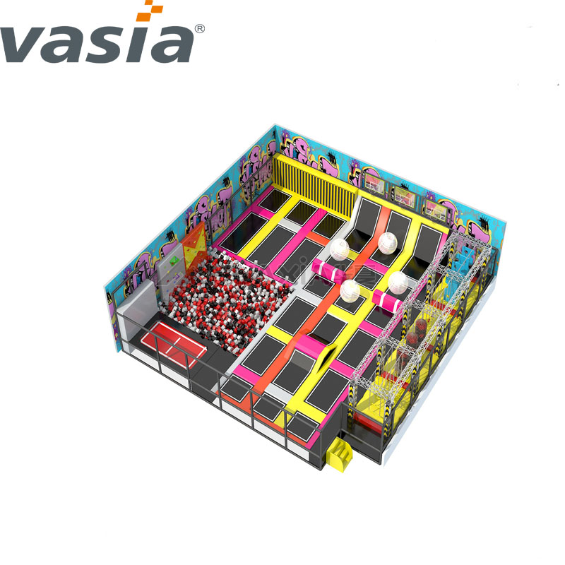 Hot Sale China 2020 Multifunctional Soft Trampoline Kids Amusement Indoor Playground