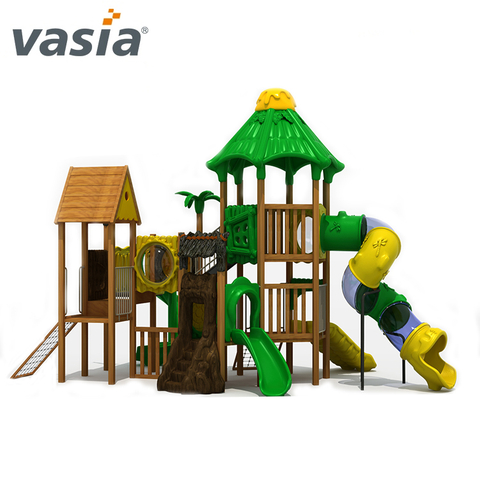 Vasia China manufacturer sliding kids Climb plastic play outdoor
