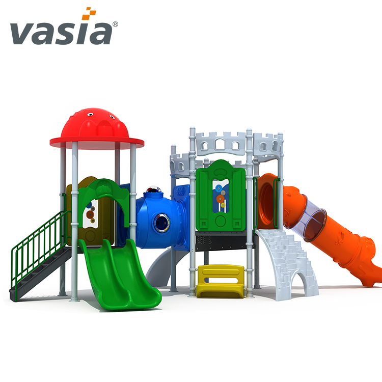 Tube slide amusement park games plastic outdoor kids playground