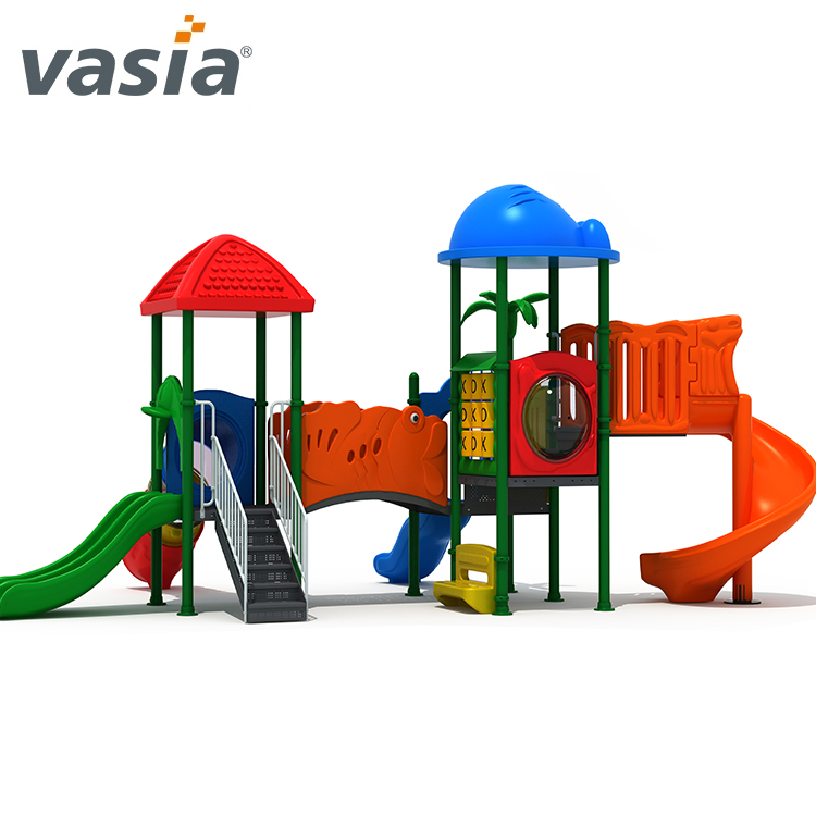Hot Sale Outdoor Play Structures Plastic Playground Equipment