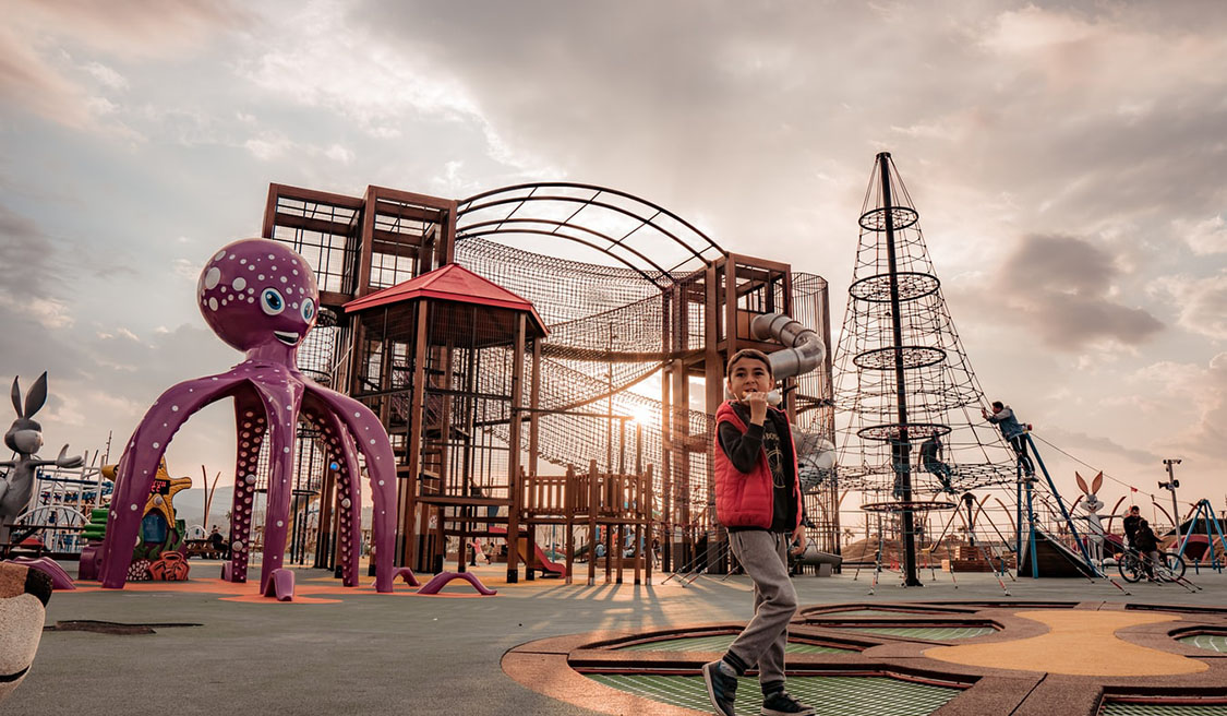 Some Famous Kids Outdoor Playset in the World