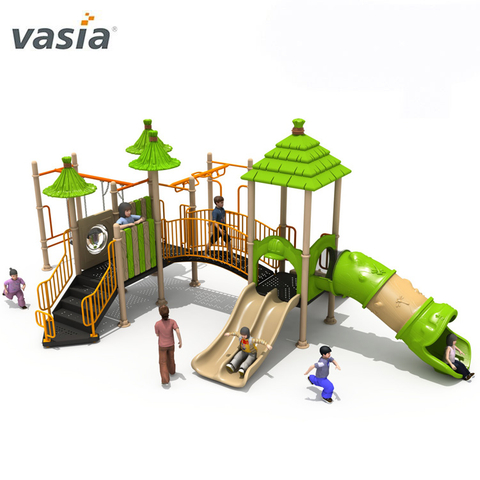 Professional Wonderful Playscape Simple Outdoor Swing Set And Children Playground for Sale