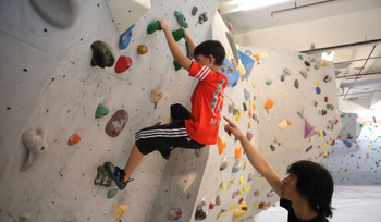 Why kids have to do the climbing activities in the kindergarten?